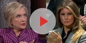 Hillary Clinton, Melania Trump, via YouTube