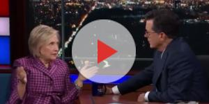 "Hillary Clinton on ""The Late Show,"" via Twitter"