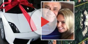 Namorada de Rezende ficou até com Lamborghini