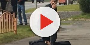 Decapita la nipotina e scende in strada con la sua testa in mano