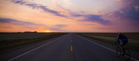 Riding into a beautiful sunset - www.markbeaumontonline.com