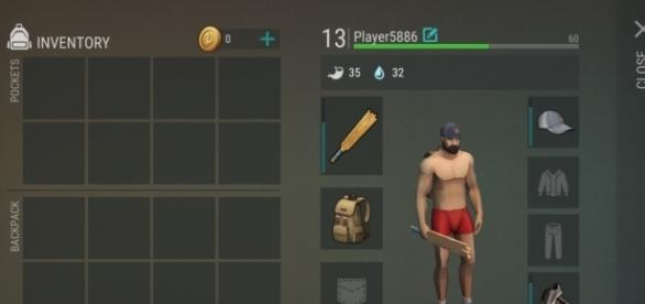 'Last Day on Earth' inventory interface - Youtube screen grab