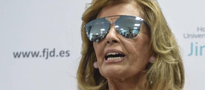 María Teresa Campos hace saltar todas las alarmas en Telecinco