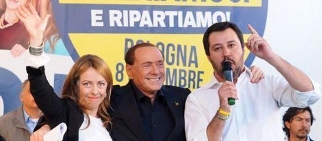Crisi tra Berlusconi e Salvini