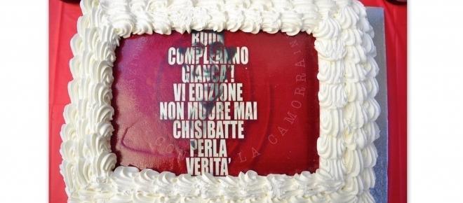 Buon compleanno Giancà VI: 'Studenti Napoletani contro la Camorra'