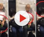 O incidente foi registrado dentro de um metrô