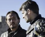 Os personagens Bronn e Jaime Lannister, de Game of Thrones.