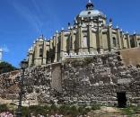 Restos de la muralla árabe de Madrid