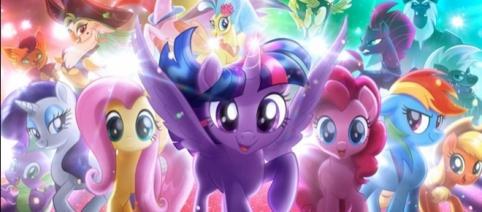 Der Film passend zur Serie: My Little Pony - Der Film. Ab 05.10.2017 im Kino. - movieweb.com