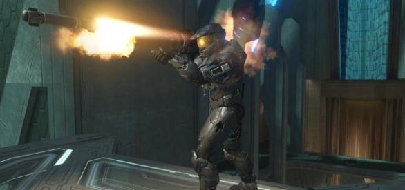 Halo 3: Rocket Launcher Master Chief [Image by commorancy|Flickr| Cropped | CC BY- 2.0 ]