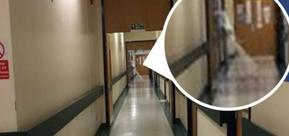 Is this a ghost? Hospital worker reckons he snapped a ghost on a ... - metro.co.uk