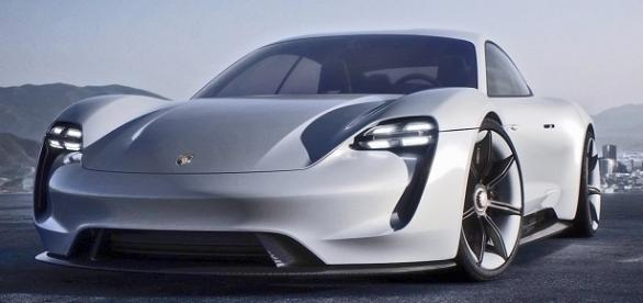 Porsche to release a production version of its Mission E concept in 2019 - YOUCAR | YouTube.com