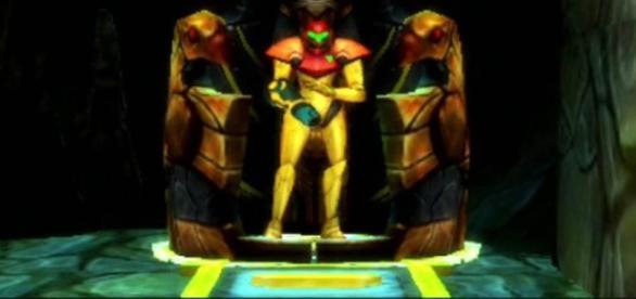 Samus in 'Metroid: Samus Returns.' (image source: YouTube/XCageGame)