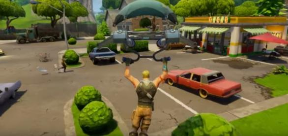 The Battle Royale mode will be released next week. Photo via Fortnite/YouTube