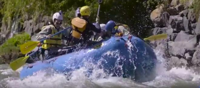 4 Amazing Rivers for Whitewater rafting in America
