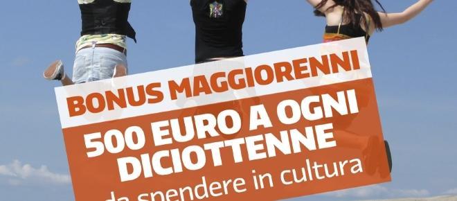Bonus cultura da 500 euro, esteso anche ai maggiorenni nel 2017