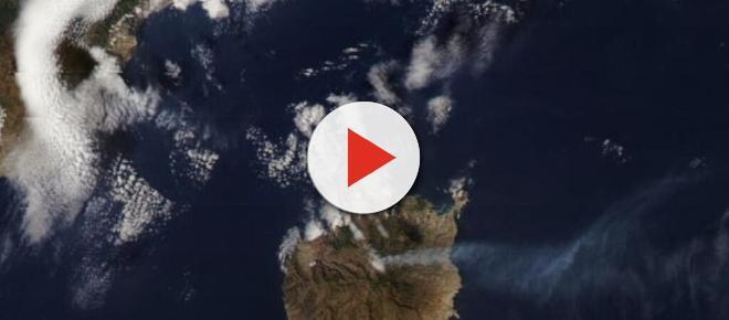 El último incendio en Canarias