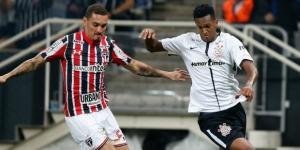 Corinthians venceu o São Paulo por 3 a 2 no primeiro turno do Brasileirão (Foto: Getty Images / Alexandre Schneider)
