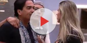 Ana Paula Minerato discutiu com Fábio Arruda, após eliminação de Nicole Bahls