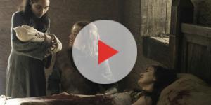 Cena de o nascimento de Jon Snow, em ''Game of Thrones'' (Foto: Reprodução/Vídeo)