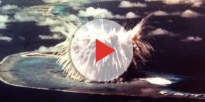 Le immagini inquietanti di un esperimento nucleare nel Pacifico