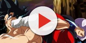 Imagen de Goku vs Jiren de Dragon Ball Super
