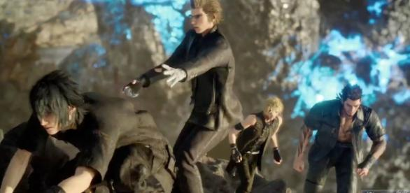 'Final Fantasy XV' (image source: YouTube/Asleep in the Fantasy)