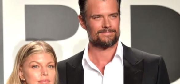 Josh Duhamel and Fergie remain amicable despite their recent split/Photo via Entertainment Tonight, YouTube