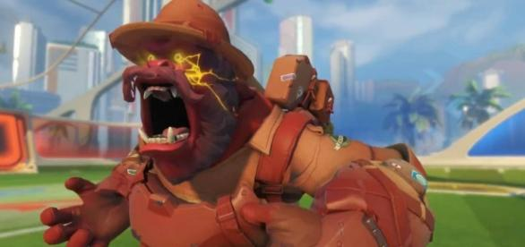 'Overwatch' hero Winston. (image source: YouTube/Carlos Ramirez)