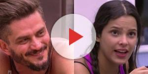 """""""A Fazenda 9"""": Em conversa com Marcos, Monique Amin revela ter sido ameaçada por ex-BBB Emilly"""