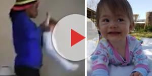 Babá judia de bebê e vídeo mostra tudo