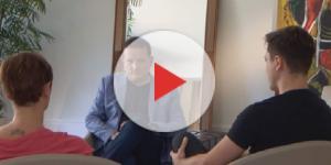 Filhos de Marcelo Rezende dão entrevista em primeira mão a Roberto Carbrini do SBT