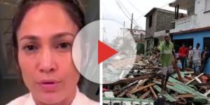 Jennifer Lopez pode ter perdido família em furacão