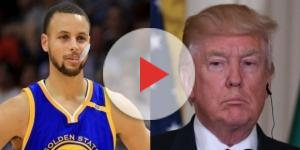 Steph Curry, Donald Trump, via Twitter
