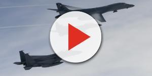 I bombardieri americani B-1B Lancer si sono levati in volo al confine tra due Coree