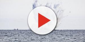Jet dell'aeronautica militare si schianta in acqua