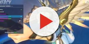 The healer Mercy - YouTube/Warp 10 Overwatch
