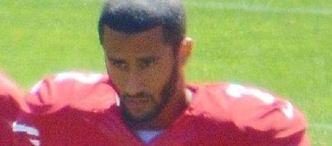 Colin Kaepernick (Image courtesy of Daniel Hartwig wikimedia commons)
