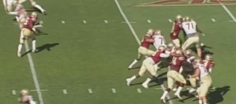 Florida State tries to capture their first win of the season Saturday when they host NC State. [Image via ACC Digital Network/YouTube]