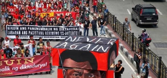 Philipines Protests Image via Wochit Politics/YouTube Screen Cap