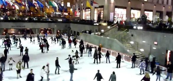 The Rink at Rockefeller Center. Photo credit: Youtube/Iain Henderson (IainH124A)