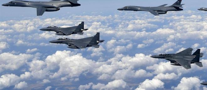 USA: bombardieri americani inviati al confine nordcoreano
