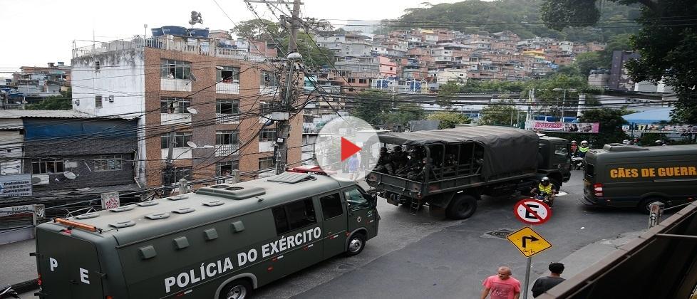 Após operação integrada, Rocinha volta a registrar tiroteio
