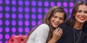 Bruna Marquezine e sua irmã Luana
