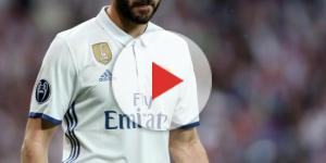 Benzema victime d'un accident de voiture