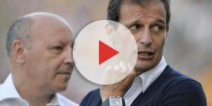 Marotta e Max Allegri, Juventus