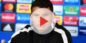 Thiago Silva répond aux journalistes