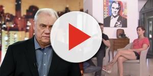 """Roberto Cabrini entrevista os filhos de Marcelo Rezende no """"Conexão Repórter"""" (Foto - Divulgação/SBT)"""