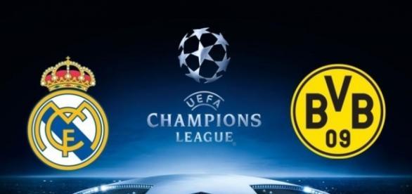 Borussia Dortmund e Real Madrid jogam na Liga dos Campeões