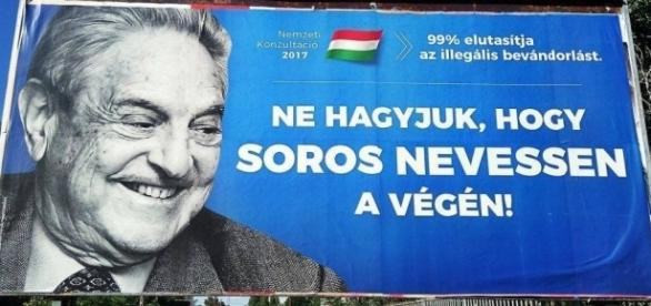 Don't let Soros laugh at the end! Photo: MTI